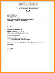 9 fax matter sample appication letter