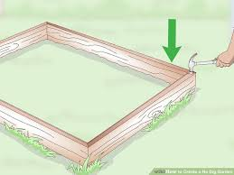 how to create a no dig garden with pictures wikihow