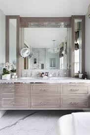 beautiful floating vanity and love the floors beautiful use of