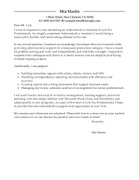 cover letter office assistant sample medical assistant cover
