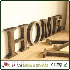 large alphabet letters base wood frame light box for bar buy