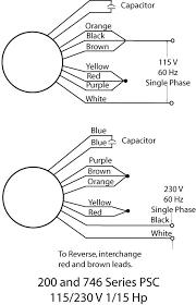 leeson motors wiring diagrams u0026 capacitor orange leeson motor
