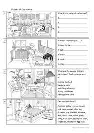 788 free esl house worksheets