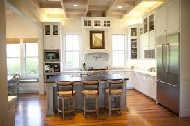 limestone countertops kitchen with no upper cabinets lighting
