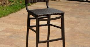 Steel Or Aluminum Patio Furniture Bar Wonderful Outdoor Cast Aluminum Swivel Bar Stool Patio