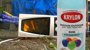 microwave me spray paint youtube