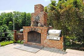 diy outdoor brick fireplace grill outdoor fireplace with bbq grill