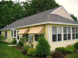 Residential Canvas Awnings Canvasworks Inc In Kennebunk Maine For Storm Shutters And All