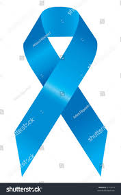 blue support ribbon blue support ribbon stock vector 2112413