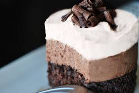 triple chocolate mousse cake recipe kraft food for health recipes