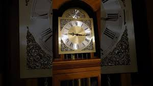 grandfather s clock german hermle grandfather u0027s clock youtube