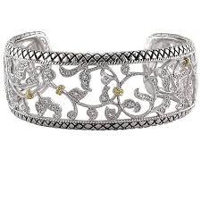 diamond bracelet cuff images Andrea candela acb98 wide diamond bracelet freedman jewelers jpg