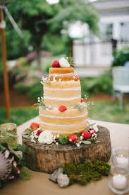 Wedding Cake No Icing Elegant Strawberry Shortcake Wedding Cake Strawberry Shortcake