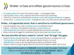 How Does Water Challenge Work Overview Of Oecd Work On Water Governance