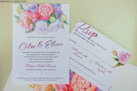 Classic Invitation Card Floral Classic Wedding Invitation Multicolor Graphics