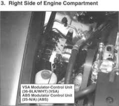 vsa light honda accord 2009 i have a 2008 accord cdti and need to replace the vsa module would