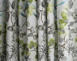 Grey And Green Curtains Floral Curtains Swavelle Perdido Graphite Curtain Panels Grey