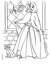 439 barbie coloring pages images