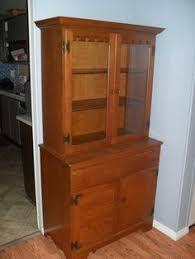 Ethan Allen Corner Cabinet by Em U0026co Furniture Upcycling Shabby Chic Cottage Hutch Ethan Allen