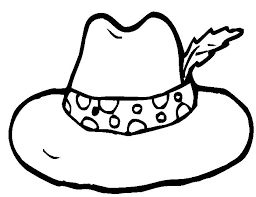 Hat Coloring Pages Getcoloringpages Com Coloring Page Of A Hat