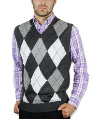 charcoal gray argyle sweater vest cardigans for