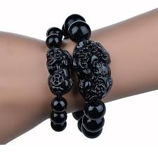 black prayer bracelet images 2018 beads bracelet for men women prayer bracelet species obsidian jpg