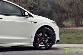 bentley red custom tesla model x with bentley red interior selling for 180k