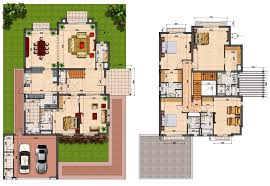 villa floor plan prime villas floor plans 4 semi detached 5 bedrooms villas