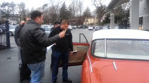 beiner audi delivery of 1959 audi 1000 to biener audi of great neck ny