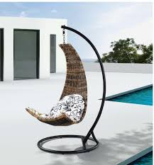 Hanging Chair Outdoor Furniture Amazon Com Dais Modern Balance Curve Porch Swing Chair Model