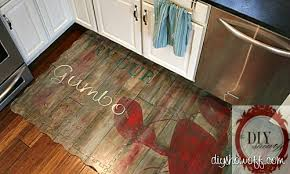 Kitchen Floor Mat Painted Play Mat Diy Show Diy Decorating And Home