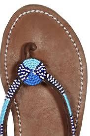 aspiga malindi beaded sandals from cape cod by cape chic company
