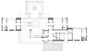 Contemporary Country House Plans The Home U0027s Floor Plan Shows The Way Its Parallel Gabled Forms