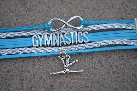 amazon com gymnastics bracelet girls gymnastics bracelet