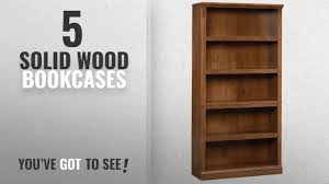 sauder 5 shelf bookcase top 10 solid wood bookcases 2018 sauder 5 shelf bookcase oiled