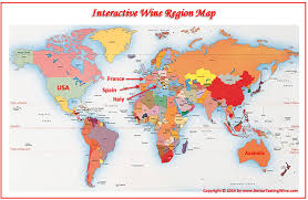 Spain Map World by Bettertastingwine Wine Maps