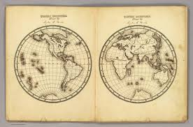 Blank Map Of Eastern Hemisphere by W Hemisphere E Hemisphere David Rumsey Historical Map Collection
