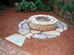stacked stone outdoor fireplace diy fire pit grill diy outdoor