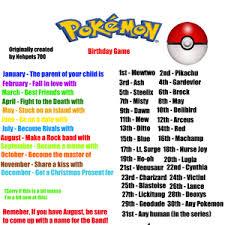 Pokemon Birthday Meme - pokemon birthday game by nehpets700 meme center