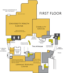 Health Center Floor Plan James Madison University Departments And Areas By Floor