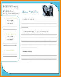 resume template word 2007 5 cv template word 2007 free gcsemaths revision