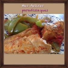cuisiner les poivrons verts escalope de poulet au curcuma origan aux tomates pelées et lamelles