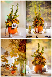 pumpkin wedding centerpieces sweet centerpieces