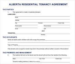 printable agreement printable sample rental lease agreement