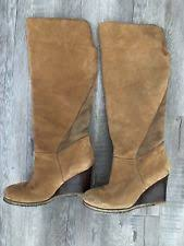 ugg australia s irmah boots ugg australia leather wedge knee high boots for ebay
