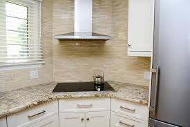 Cover Kitchen Cabinets Tiles Backsplash Granite Countertops With Off White Cabinets