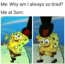 So Tired Meme - me at 3 am the best meme for insomniacs smosh