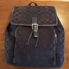 s coach backpack sale on poshmark