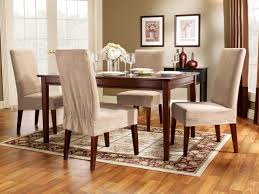 Slip Covers Dining Room Chairs Linen Covered Dining Room Chairs Chair Covers Ideas