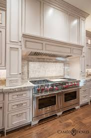Painted Gray Kitchen Cabinets Best 25 Wolf Stove Ideas Only On Pinterest Brick Backsplash